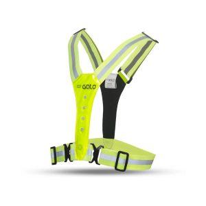 led safer sport vest