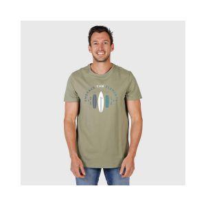 tim print mens t-shirt