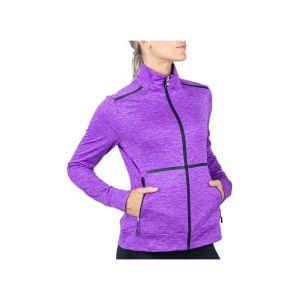 lady training jacket lavendel