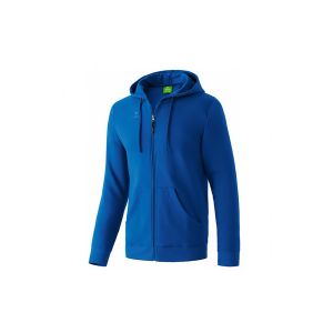 Hooded sweater jacket new royal
