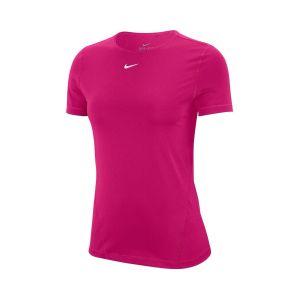 nike pro women's short-sleeve mesh