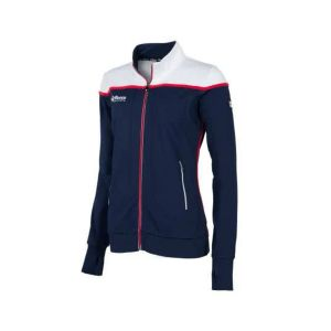 varsity stretched fit jacket
