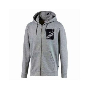 big logo Full Zip hoody Fleece