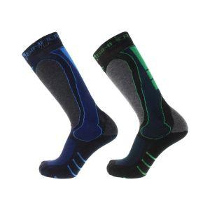 mens socks geo double pack