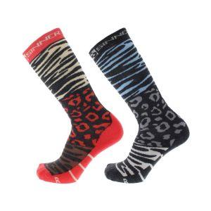 ladies socks animal double pack