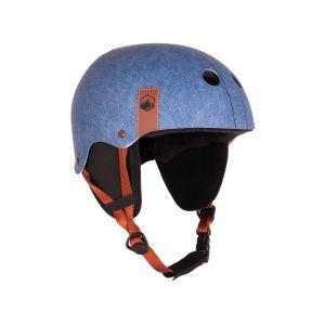 flash helmet - denim