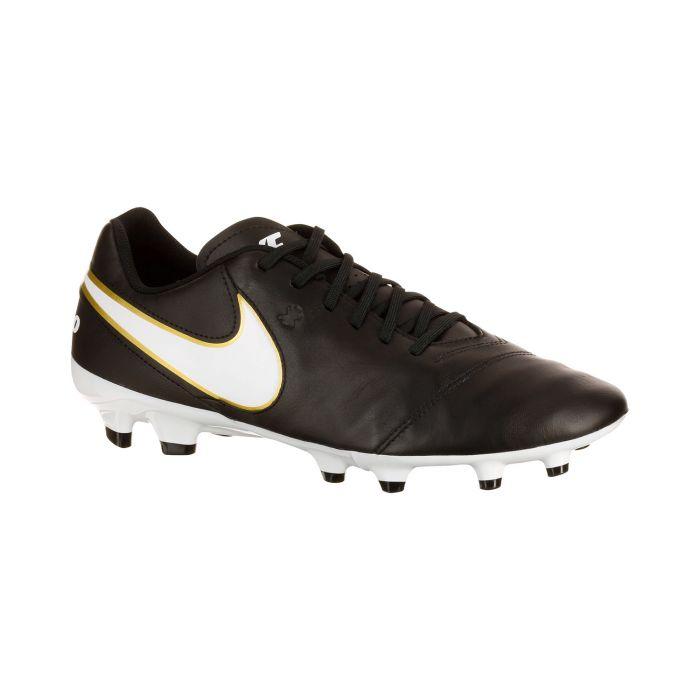Nike tiempo genio ii leather fg zwart zwa