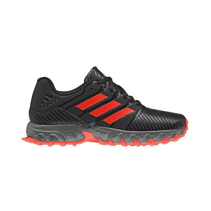 Adidas junior hockeyschoenen hockey junior zwart rood