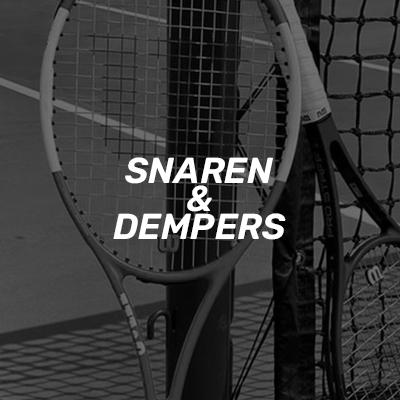 Tenis snaren en dempers